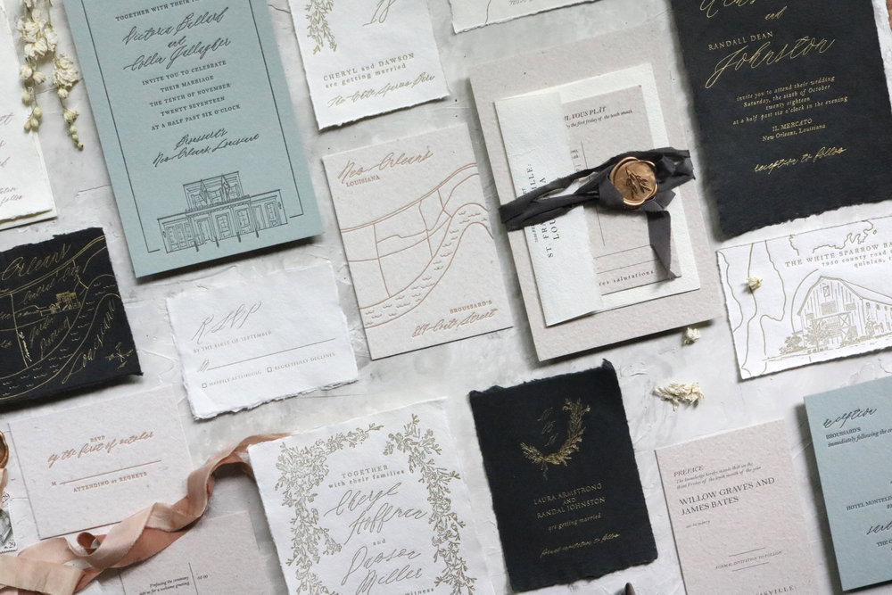 [HAND]CRAFTED WEDDING PAPERS -