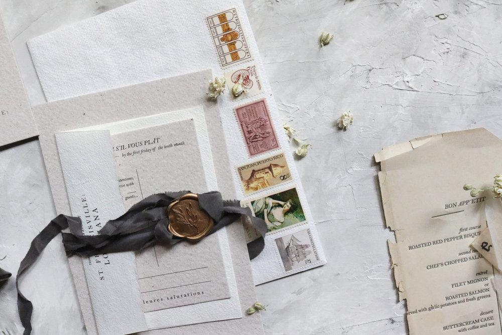 THE little BLUE CHAIR_custom wedding stationery_handmade paper_marsala wedding_letterpress_map card_venue sketch_H&T_24.JPG