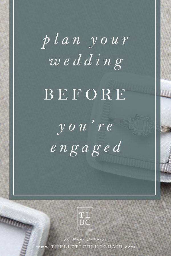 wedding planning tips || the little blue chair by Hope Johnson || thelittlebluechair.com/theonepageweddingplanner