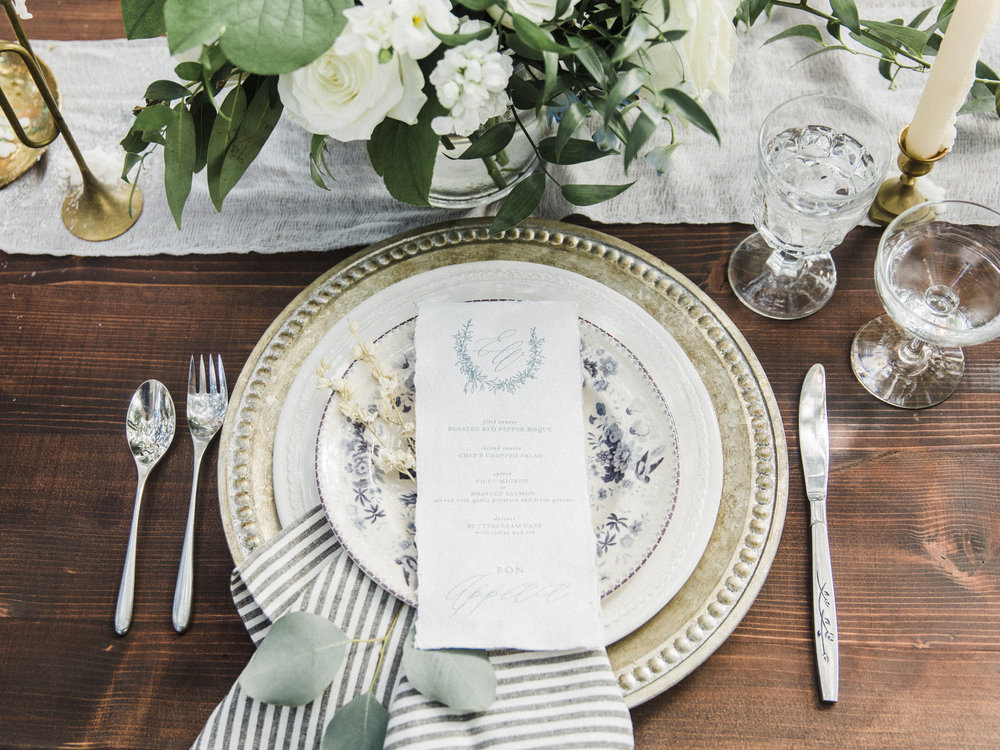 dusty blue wedding stationery || the little blue chair by hope johnson || thelittlebluechair.com