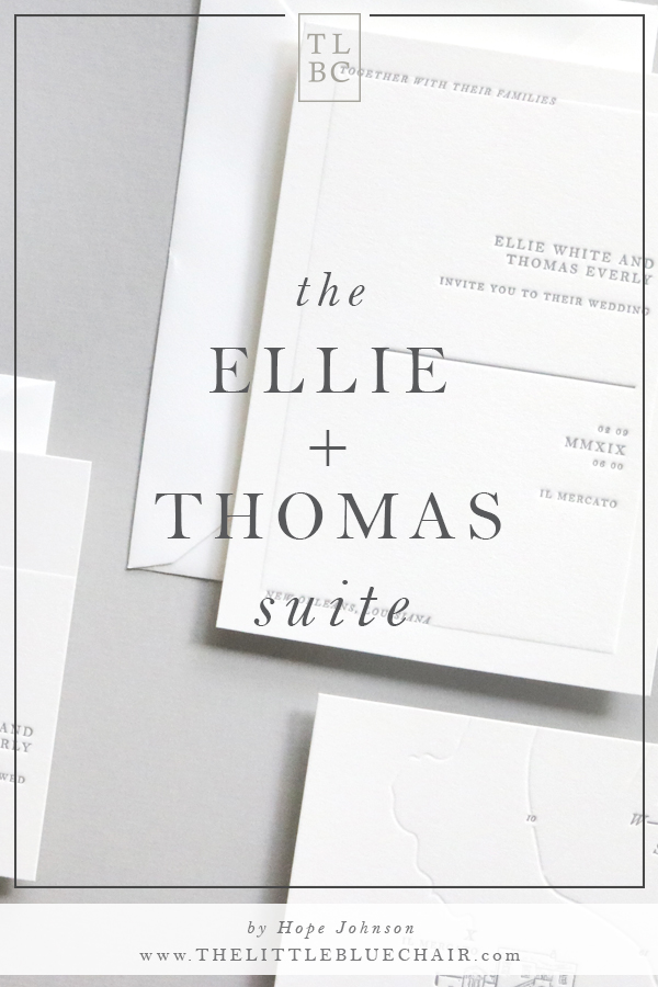 The Ellie and Thomas Suite | the little blue chair by Hope Johnson