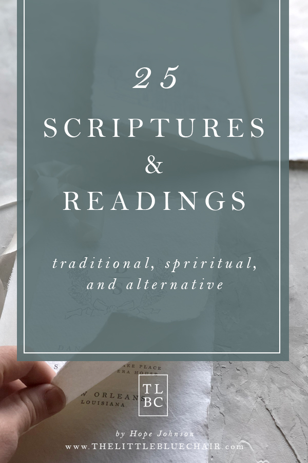 25 Scriptures and Readings