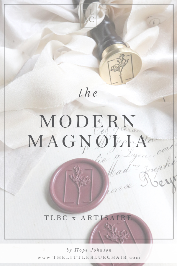 The Modern Magnolia from Artisaire by Hope Johnson with The Little Blue Chair | SHOP NOW AT ARTISAIRE.COM