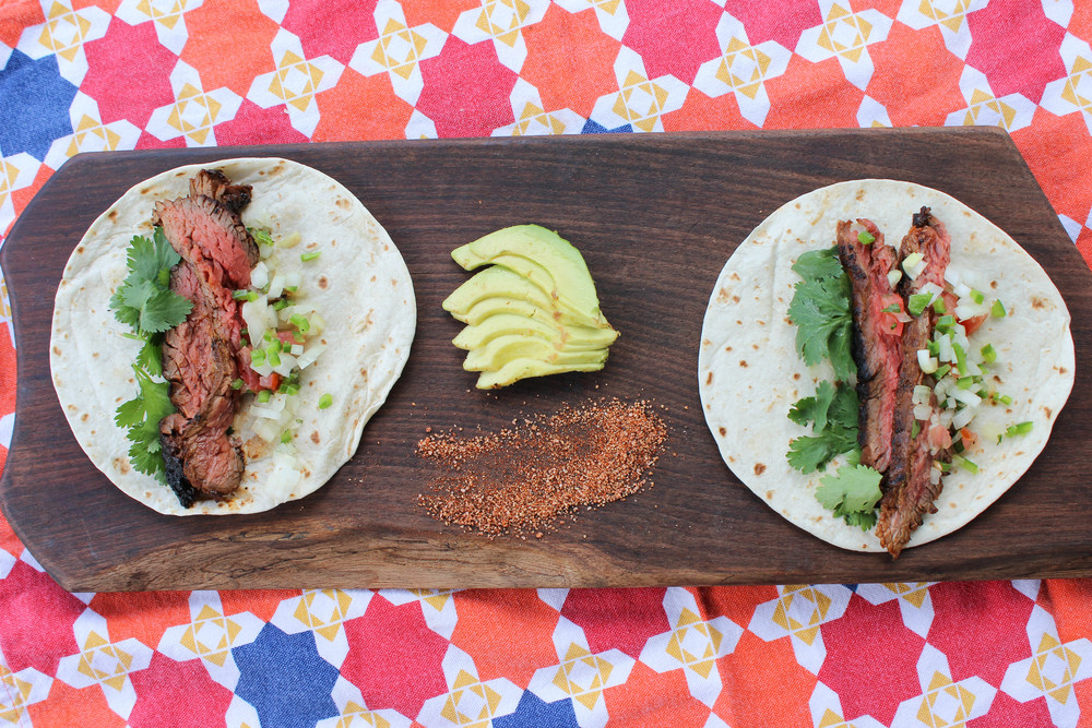Jay Ducote Steak Fajitas