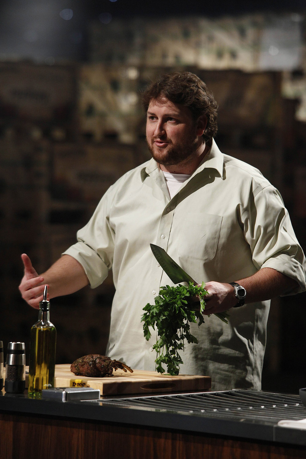 Jay Ducote on Season 2 of Masterchef on Fox