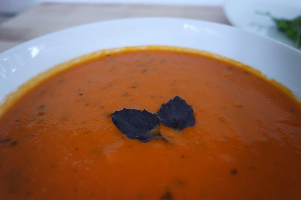 Smoked Creole Tomato Soup