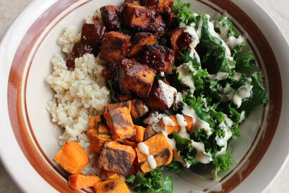 Barbecue Buddha Bowl