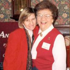 Dr. Pat Bragdon & Mary Burke