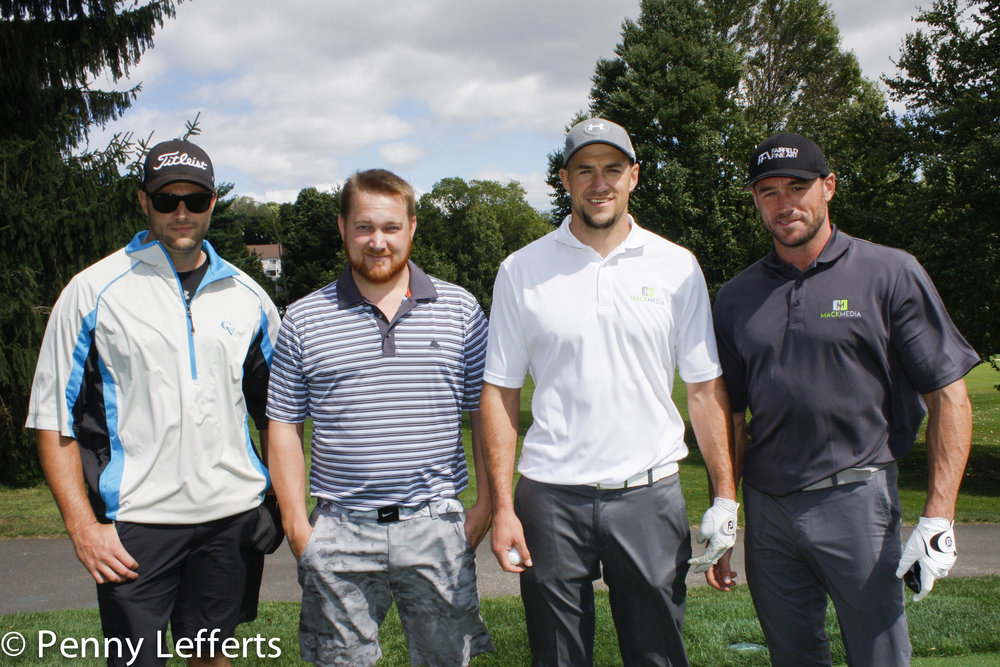 The 2015 Ann Olsen Greater Danbury Golf Classic Winning Team   Congratulations to last year's first place winners Adam Mack, Ryan Mack, Pat Nalley, and Tim Fagen of American Contracting & Remodeling!