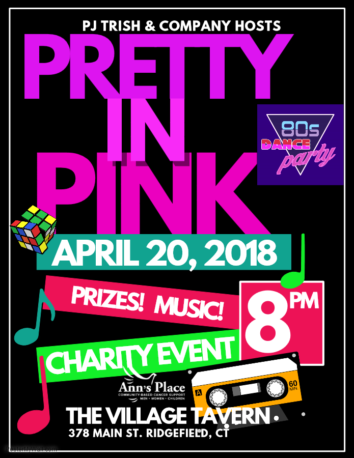 Pretty In Pink 80s Dance Party