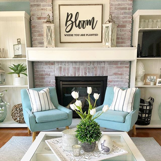🌷🌼 Hello Spring! 🌼🌷 Which room in your home could use a spring refresh?  Via @redbrickmantle
