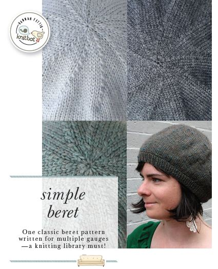 Beret Knitting Pattern Easy : Simply Perfect... The Simple Beret   Alisa the Yarnista