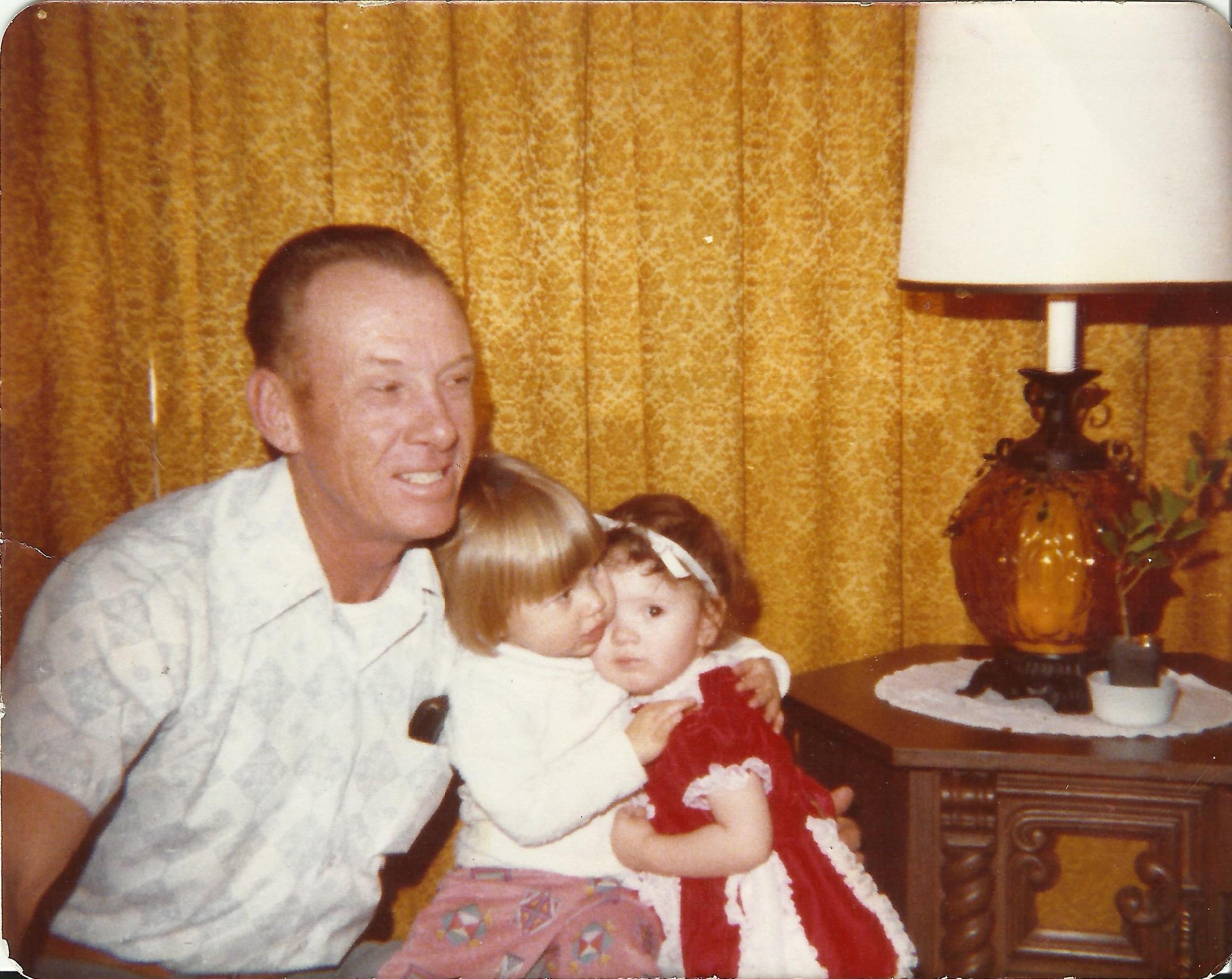 Grandpa Alisa Marie Christmas 1977