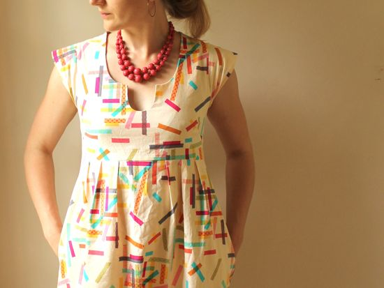 Washi Dress Sewing Pattern by Made by Rae