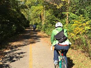 North Shore Bike Path to Kenosha, WI image CREDIT: Melissa Manak