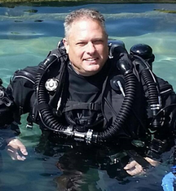 The SDI Technical Dive Instructor - Max Gilbert