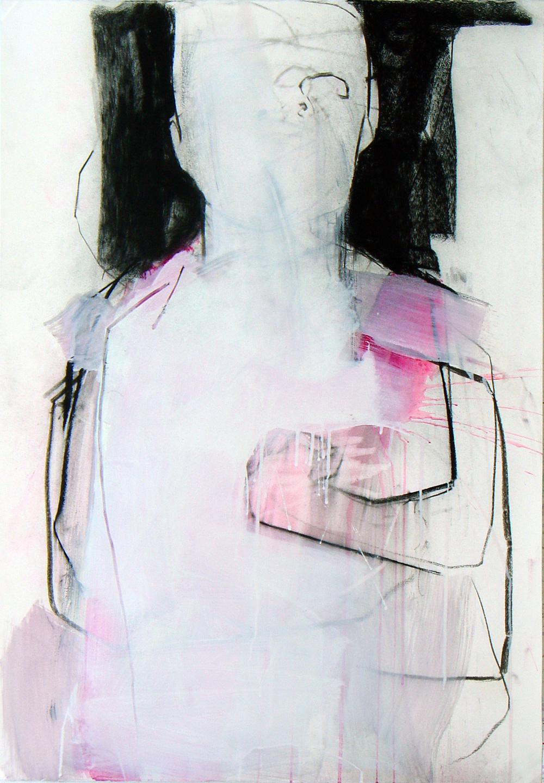 Série nº 14 Técnica Mista sobre Papel 100 x 70 cm 2009/2012