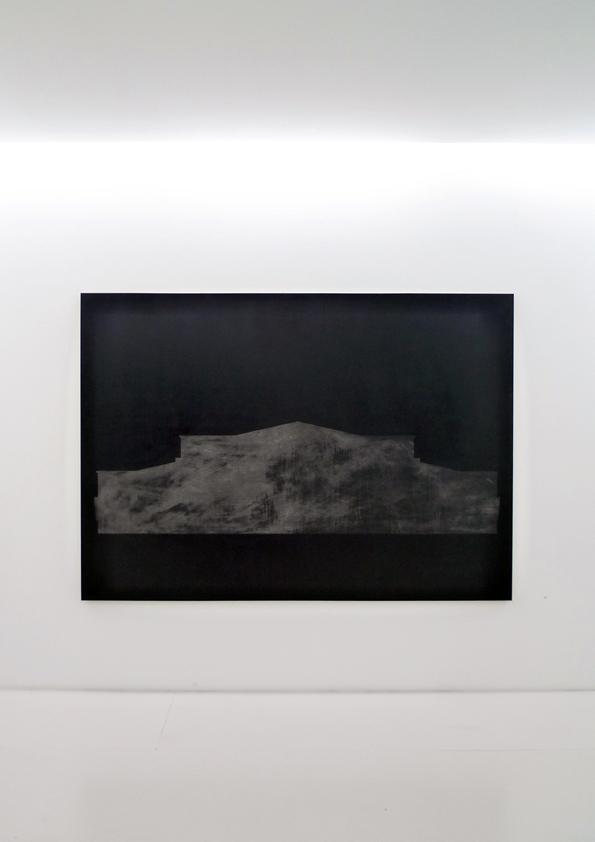 Da série Centro Social Vista da obra na Bloco103 [Lisboa] Técnica Mista [Acrílico e Óleo] sobre Linho 162 x 228 cm 2013