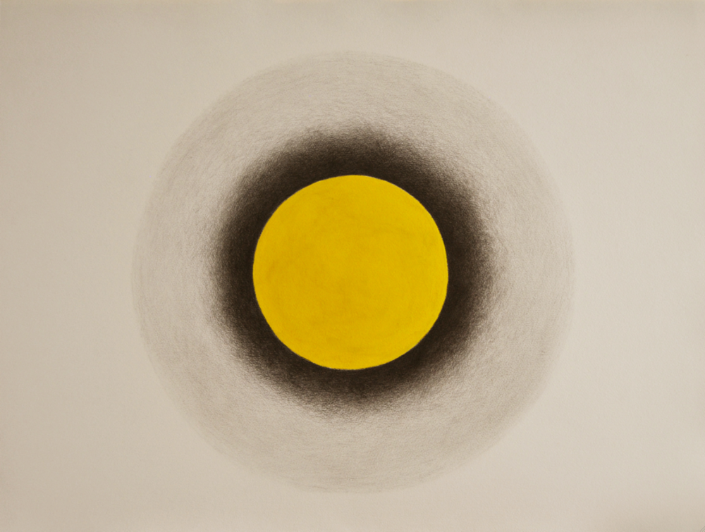 Sun Graphite and Acrylic on Arches Paper 80 x 60 cm 2013