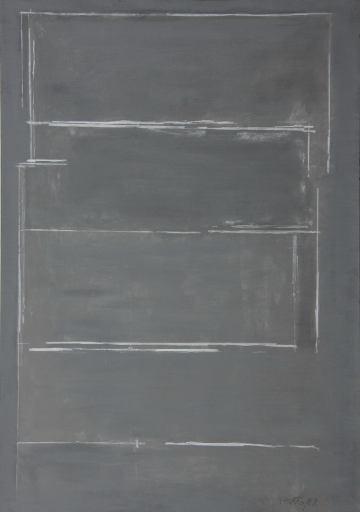 Untitled Acrylic on Canvas 100 x 70 cm 1988