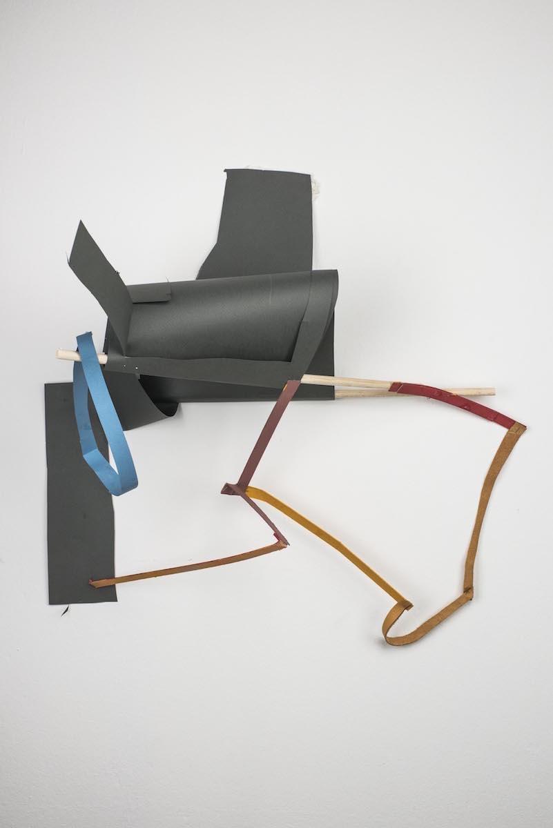 Joana Rá, Do espaço Técnica mista sobre papel e madeira 70 x 70 cm 2017