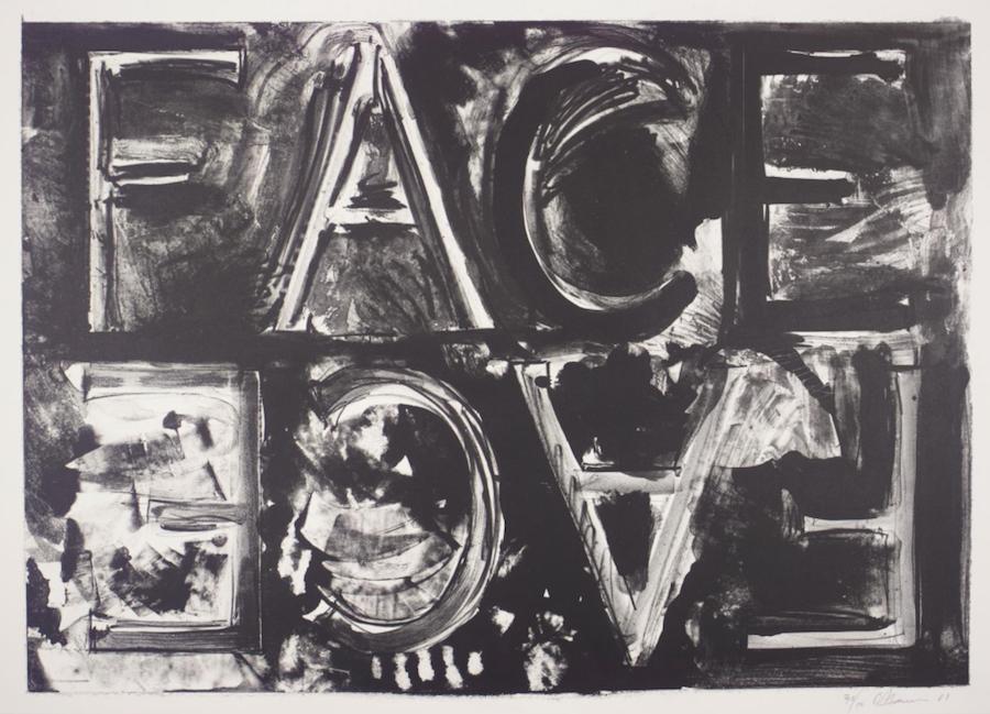 Double Face, Bruce Nauman, 1981