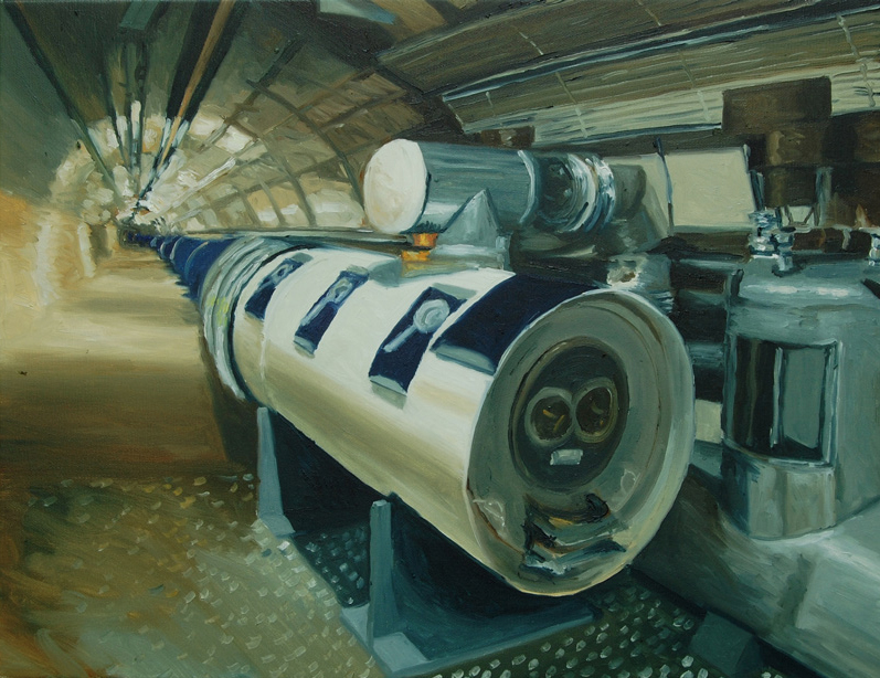 Acelerador de partículas, 38x49, 2009.jpg