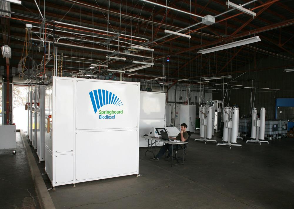 springboard biodiesel plant