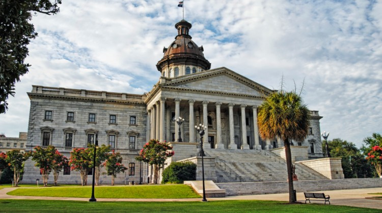 The beautiful SC State House--one perk of many here in Columbia.