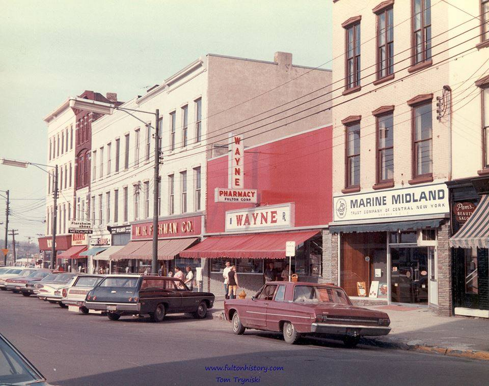 Downtown Fulton's South First Street, once part of a busy shopping and social gathering destination known as the Dizzy Block.