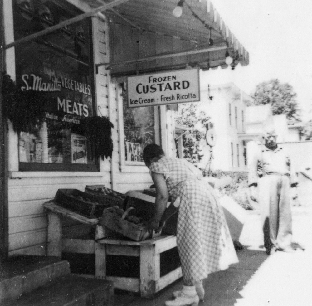 Manitta's grocery store, one of many neighborhood stores that were once found in Fulton.