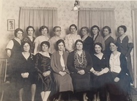 For more than 100 years, a group of Fulton women gathered to discuss the works of William Shakespeare and other topics, as shown in this 1965 photo.