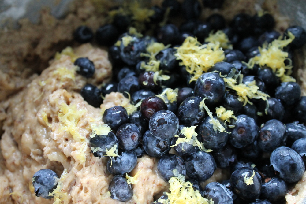 Cake for breakfast? Why not with this Blueberry Lemon Zest Breakfast Cake recipe that is vegan, gluten-free and refined sugar-free. Find the recipe at www.fernsandpeonies.com