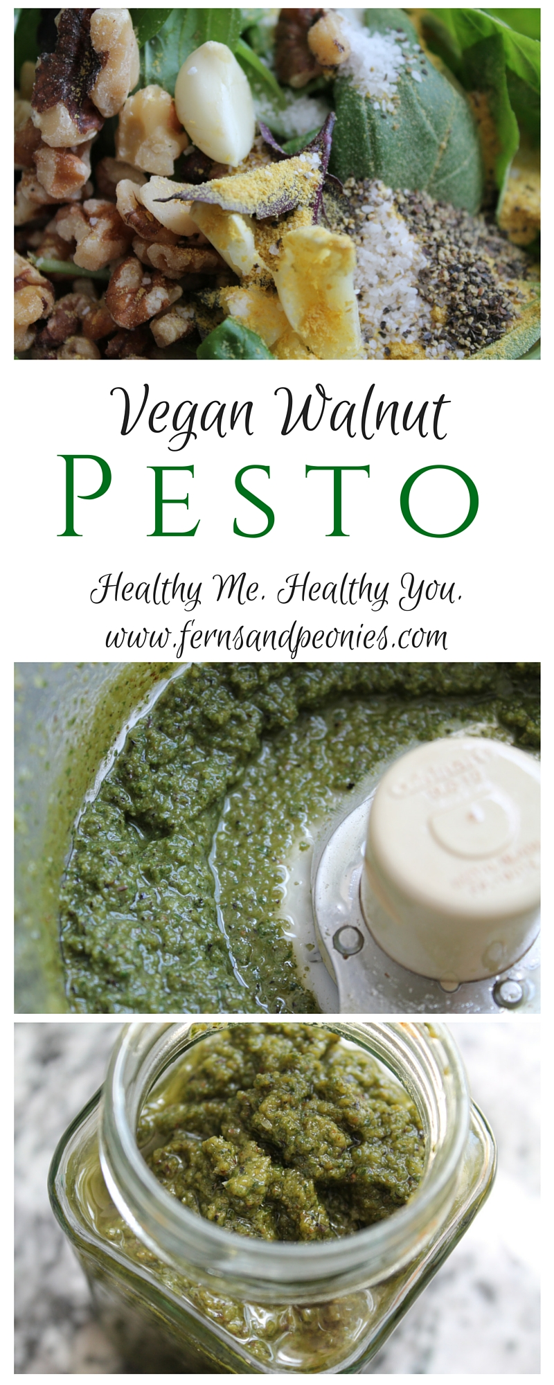 Make a lifestyle change with The Clean 66 Plan - it actually takes around 66 days to form a new habit. Get started with my Mediterranean Zucchini Noodles with Vegan Walnut Pesto. Find this and more on the blog at www.fernsandpeonies.com