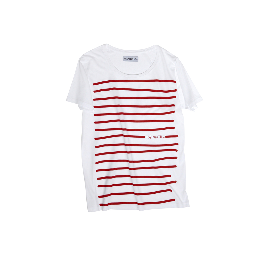 STRIPY TEE DRESS