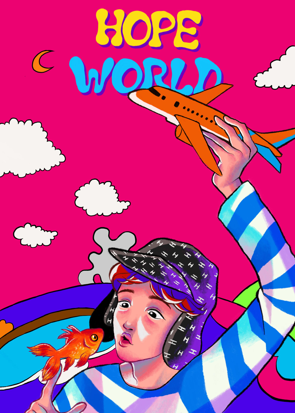 hope world (bts) print