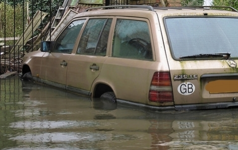 Flood-Damaged Cars... - some will make their way to market and sold to unsuspecting consumers.