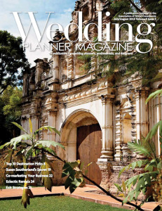 August 2013. Real Weddings—Puerto Rico pag.27 Sari Skalnik, aBC™, of Tropical Weddings, shares the delightfully rustic, yet softly elegant destination wedding of a Florida couple who chose to wed in Puerto Rico.