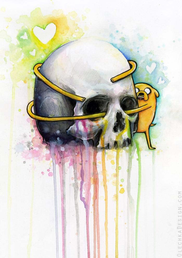 Jake and Skull