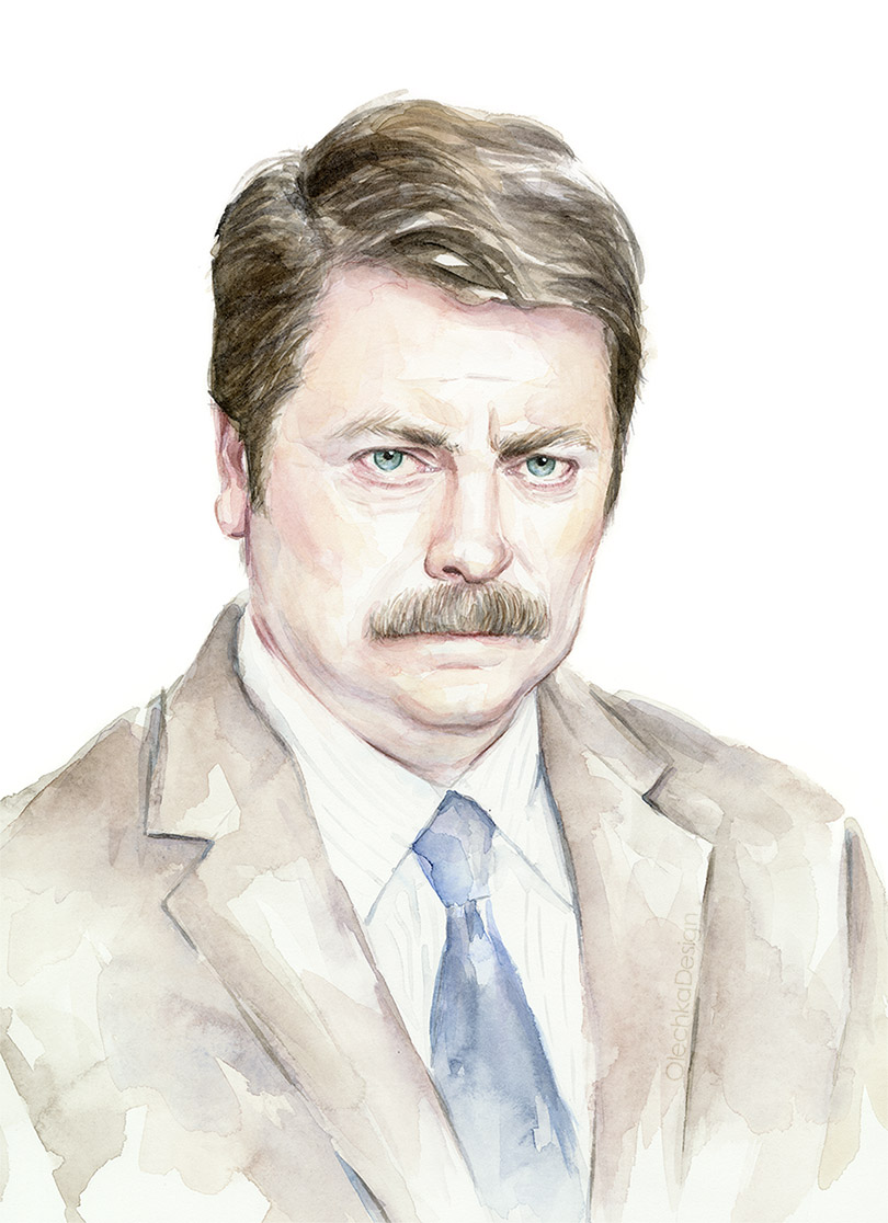 ron-swanson-watercolor-portrait.jpg