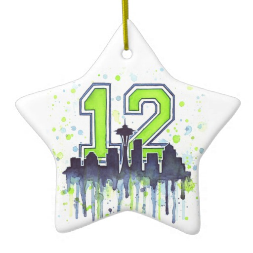 12th Man Ornament Seattle
