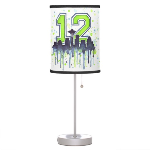 12th Man Lamp