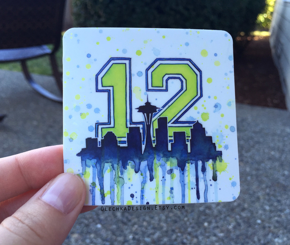 12th Man Sticker