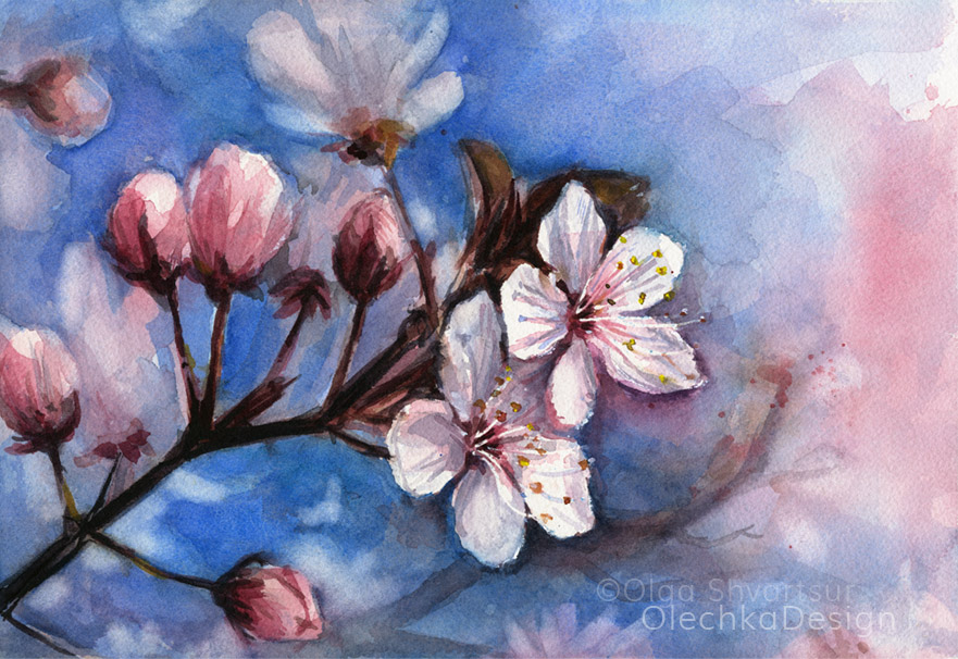 cherry-blossoms-watercolor-painting-spring-flowers-olechkadesign.jpg