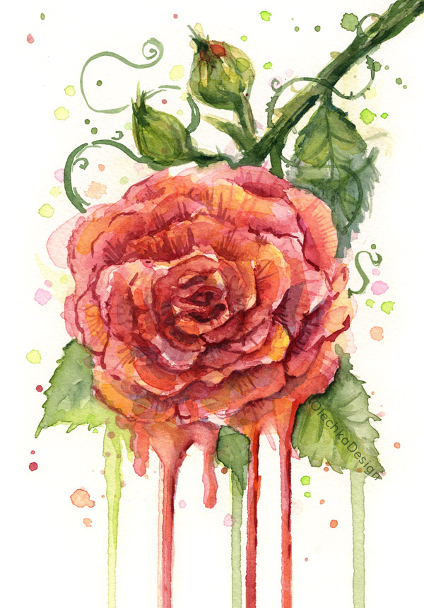 Rose-painting-watercolor-red-dripping-flower-olechkadesign.jpg