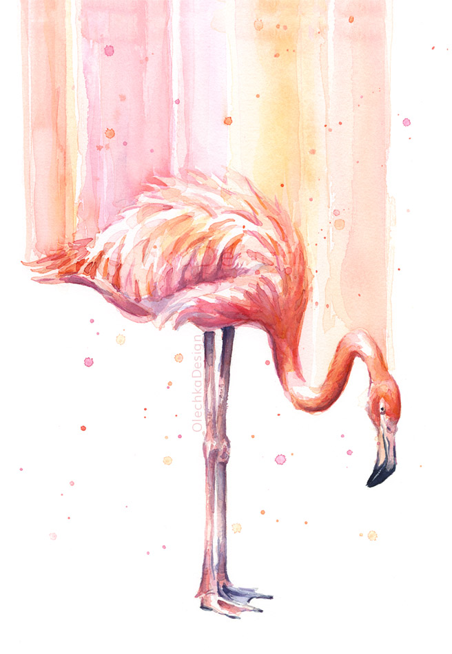 Flamingo-pink-watercolor-8-OlechkaDesign.jpg