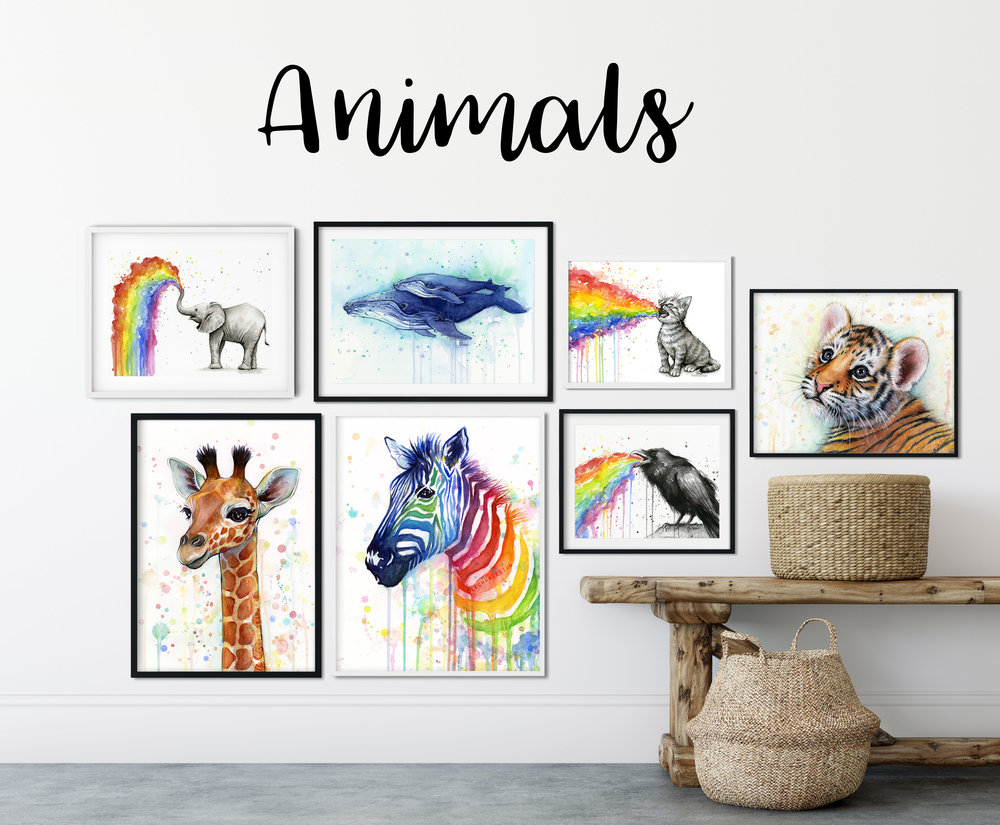 animal-wall-art-watercolor