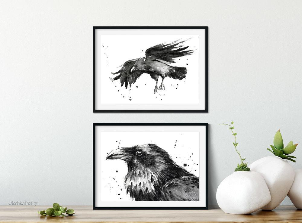 raven wall art