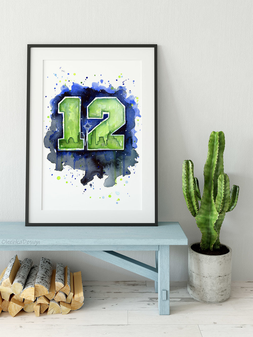 seattle 12th man wall art