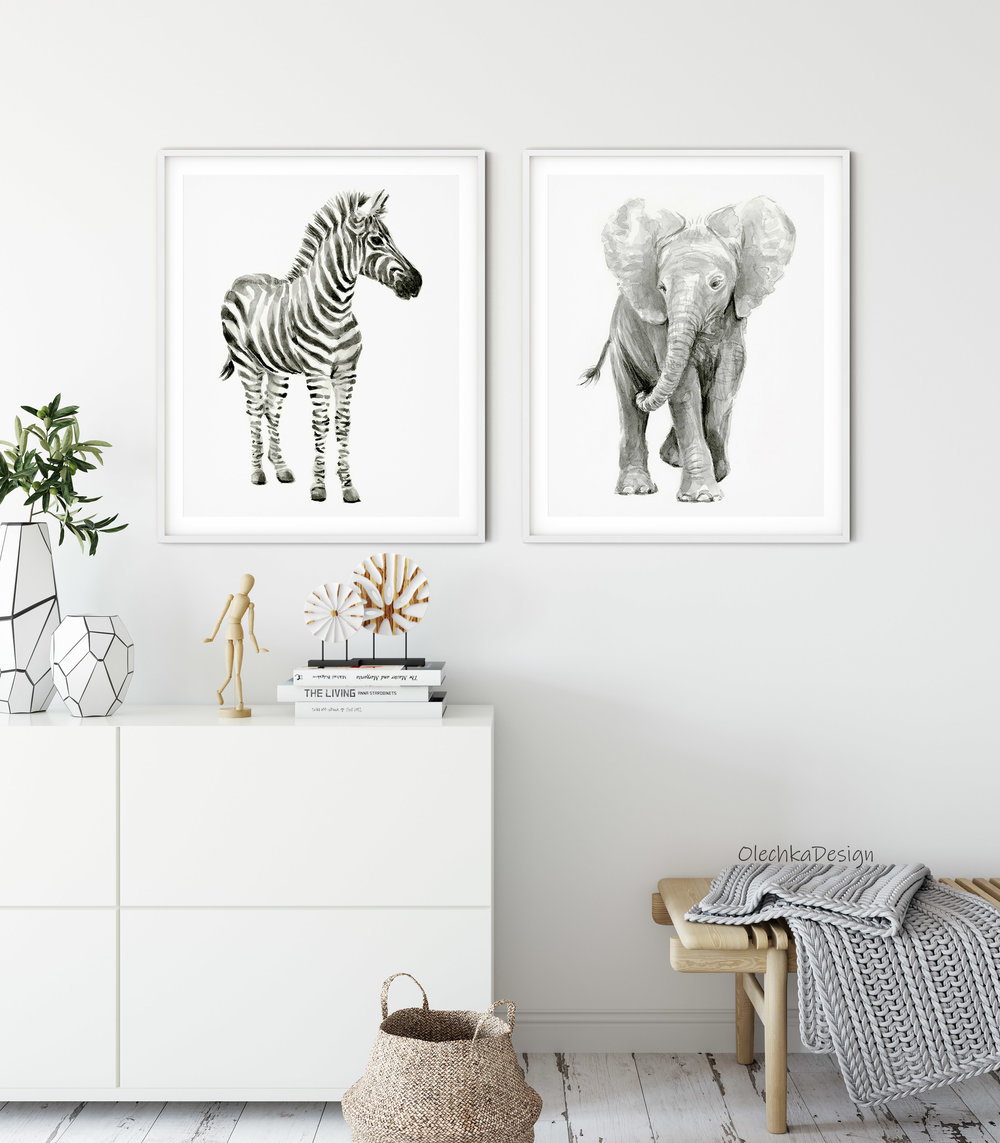 nursery-wall-art-zebra-elephant-watercolor-prints.jpg